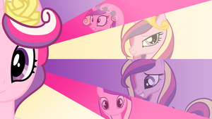 Princess Cadence 'Clasic Style' Wallpaper by BlueDragonHans