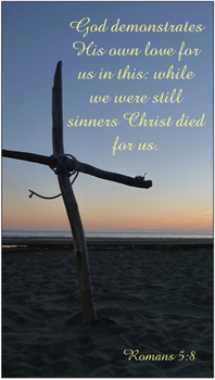 Christ Died For Us Magnet by MystiqueDeep