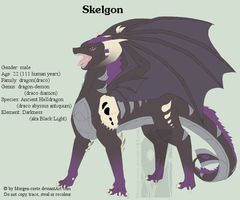 Skelgon Ref-Sheet 1.0 by Tinuvion