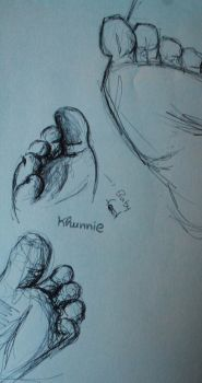 Feet Study by Morbid0beauty