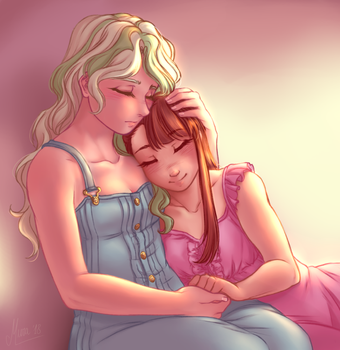 A moment with you by yuri-murasaki