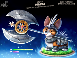 Daily Paint 1947# Wargi by Cryptid-Creations