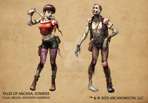 Tales of Arcana 1st Set - Zombies by TalesofArcanaRPG