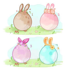 [CLOSED] Mini lions Easter egg surprise by miloudee