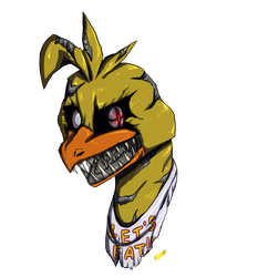 Nightmare Chica by SsilverBeeze