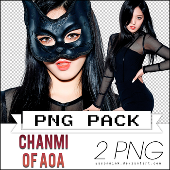 Renders' pack with Chanmi of AOA ('Like A Cat') by yasonmink