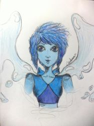 Water Witch (Lapis Lazuli) by MikaSniper