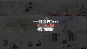 psd .\\\. nct dream.we young by Jinhyun99