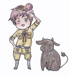 Chibi Spain from Hetalia by outlire