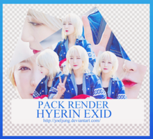 Pack Render Hyerin EXID by JoelJung