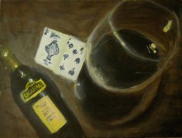 Wine and Cards by Samantha-Arriaga