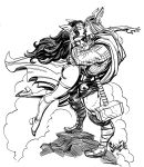 Thor and Sif by Steve-Ellis