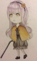 Lilac Haired Chibi by chronojessicapple