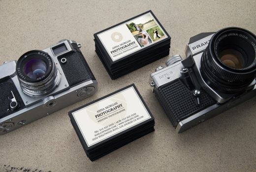 Wedding Photographer Business Cards by es32