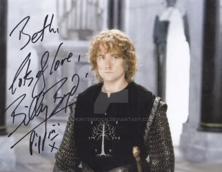 Pippin of the Lord of the Rings by Huntermoon