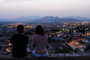 Looking over Granada by noukka