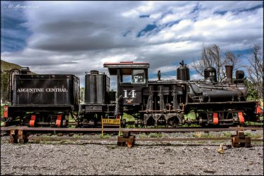 Argentine Central Railway Shay No14 by lil-Mickey