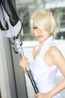 Lunafreya Cosplay by CrystalMoonlight1
