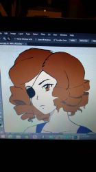 sneak peak at the almost fully colored zero by VermillionUmbra