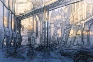 Post War City 2 by ivangraphics