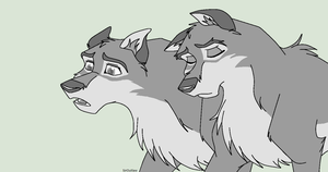 Balto Base, Male x Male by SirOutlaw