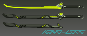 Toxic Energy Katana Adopt Auction (closed) by Nano-Core