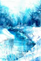 Blue winter I. by Verenique