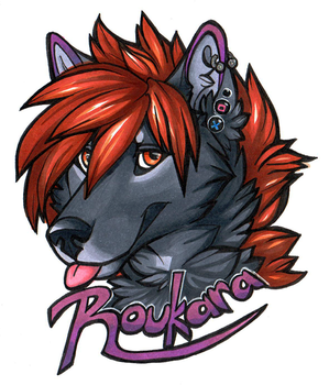 Badge: Rouka (2017) by Roukara