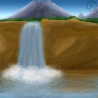 Waterfall by DragoN-FX