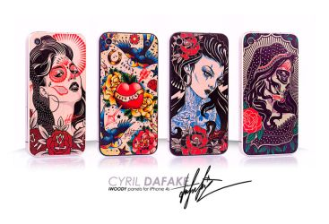 iPhone woodpanels by DZNFlavour
