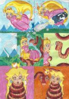 Cape Peach's Snakey Downfall by Blockdasher91