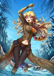 Summer Time Yang - Battle Suit by ADSouto