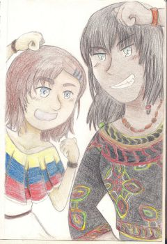 Keara and Ira - Ethnic Outfits by Fiyr