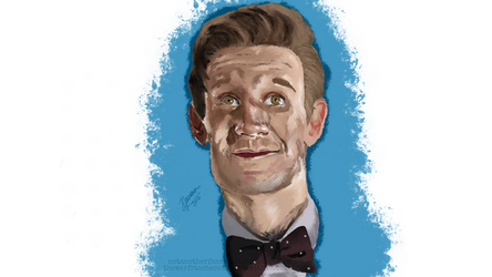 11th Doctor by NotAnotherFanArtist