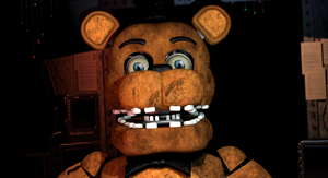 (C4D)Withered Freddy by SpringBonnieNotTrap