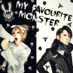 LM.C - My Favourite Monster (Fanmade Album Cover) by Me-The-Manga-Fan101