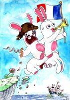 Raving Rabbids by emalterre