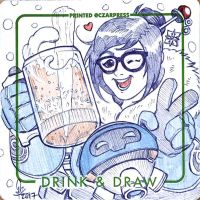 OW Mei Coaster Sketch by mkmatsumoto