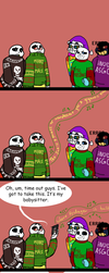 Undertale CPAU: 1- Time Out by IvyLeafTea