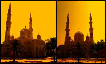 The Jumeriah Mosque by Netjeret