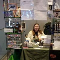 Ohayocon 2014 Artist Alley Table by lilly-peacecraft