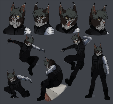 Sterling Sketch Page by Nightrizer