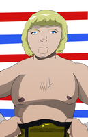 The American Dream Dusty Rhodes by fighterxaos
