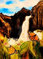 Monarchs on Milkweed Creatures  of Light 5 by Yosemite-Stories