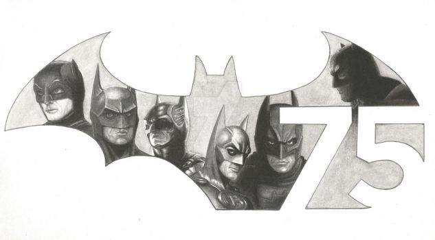 Batman 75 Anniversary Tribute by ShayneMurphy