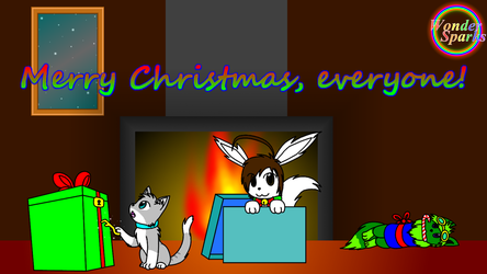 Merry Christmas 2013! by WonderSparks