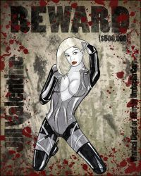 Wanted Jill Valentine by Chuck-K