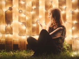 B is for Bright Lights by Catandhearts