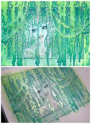 ACEO - dryad 2 by drachenmagier