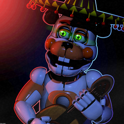 Funtime El Chip Poster by The-Smileyy
